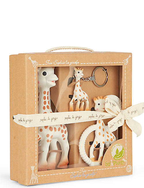 SOPHIE THE GIRAFFE So'pure giraffe trio