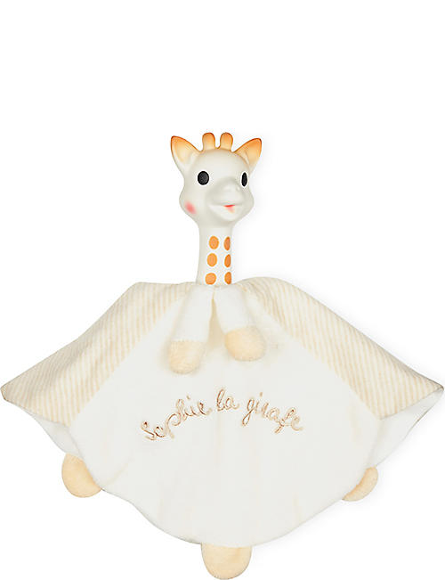 SOPHIE THE GIRAFFE Teething comforter