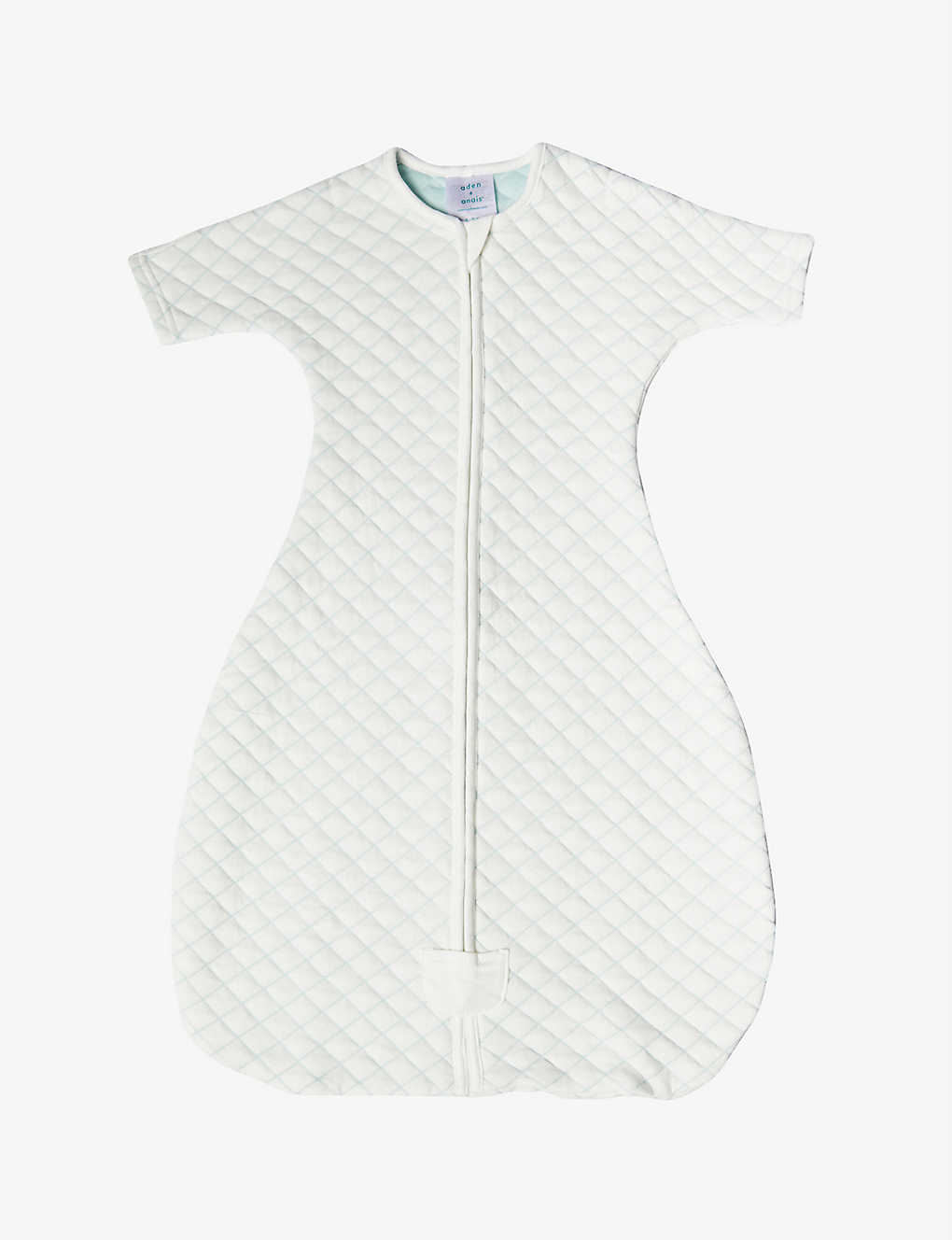 ADEN + ANAIS: Snug-fit quilted sleeping bag 1.5tog 6-9 months