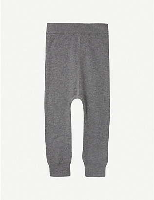 THE LITTLE TAILOR: Knitted mix jogging bottoms 0-12 months