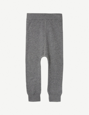 THE LITTLE TAILOR Knitted mix jogging bottoms 0-12 months
