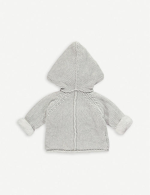 THE LITTLE TAILOR Knitted cotton pixie jacket 0-12 months