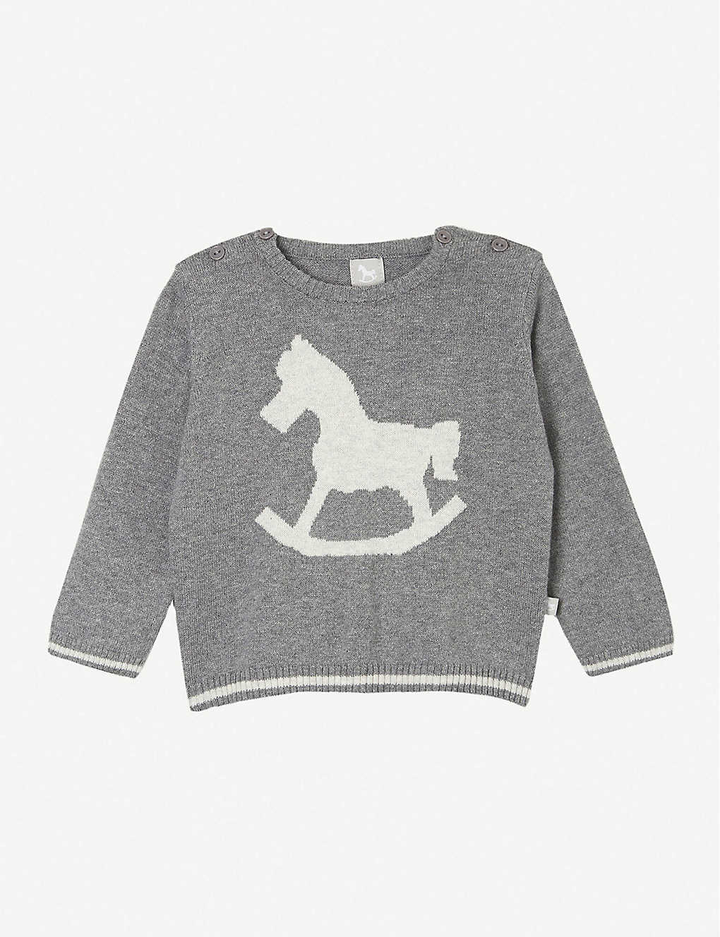 THE LITTLE TAILOR: Rocking horse jumper 0-12 months