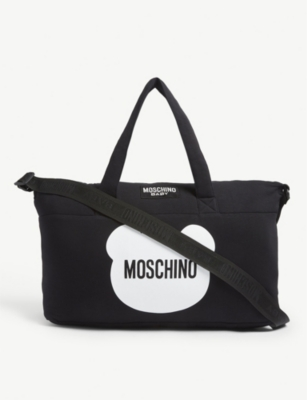 MOSCHINO Teddy changing bag and mat