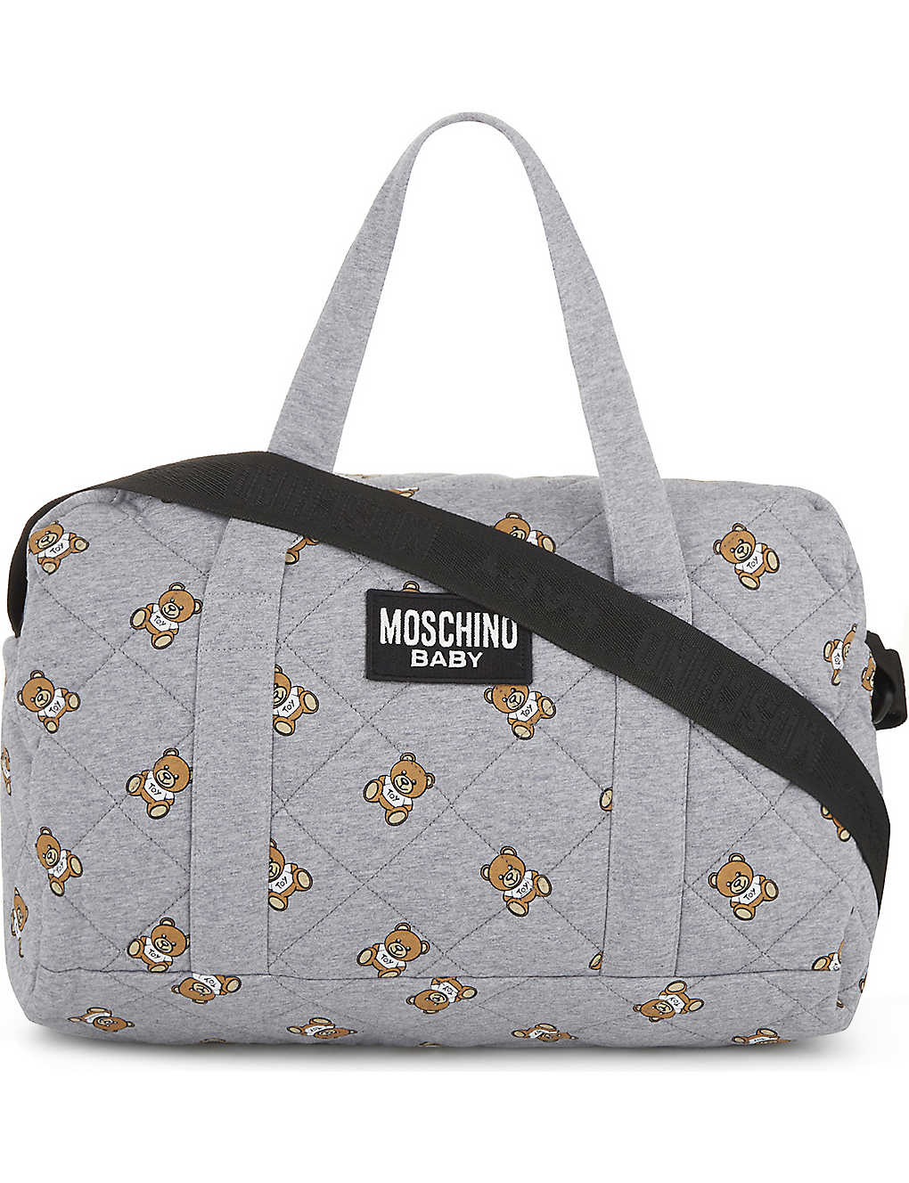 c4fa2d96c3 MOSCHINO - Teddy bear print changing bag | Selfridges.com
