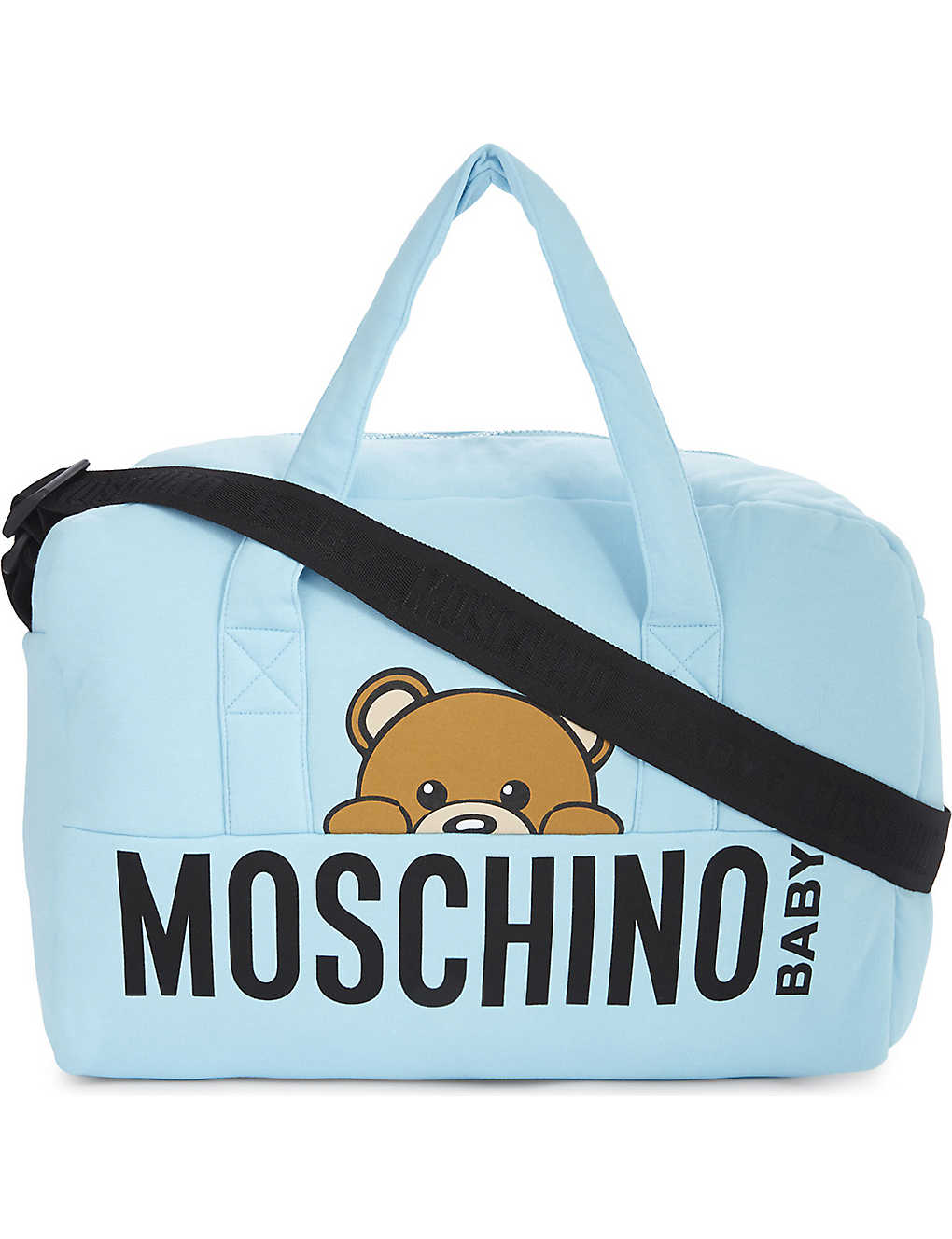 495ea25c3a6 MOSCHINO - Toy Bear cotton-blend changing bag | Selfridges.com