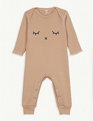 ORGANIC ZOO: Sleepy organic cotton sleepsuit 0-12 months