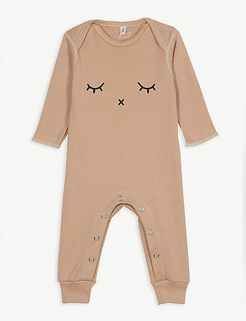 ORGANIC ZOO Sleepy organic cotton sleepsuit 0-12 months