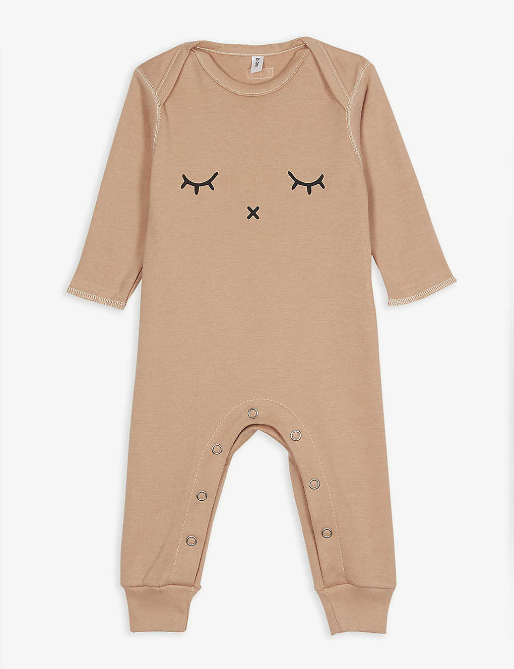 ORGANIC ZOO: Sleepy organic-cotton sleepsuit 0-18 months