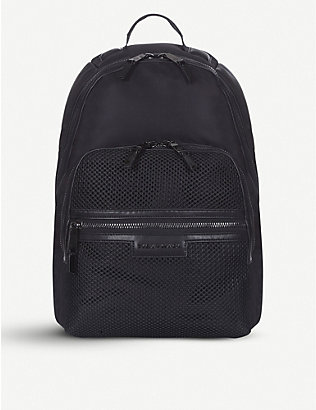 TIBA + MARL: Francis mesh nylon backpack