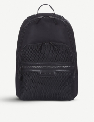 TIBA + MARL Francis mesh nylon backpack