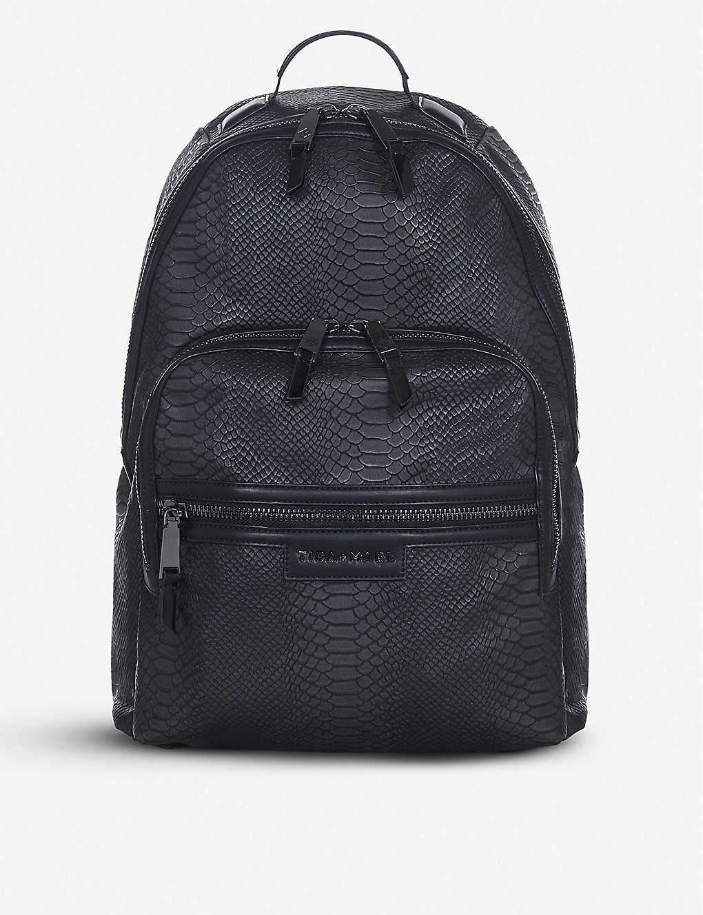 TIBA + MARL: Elwood snake-embossed backpack