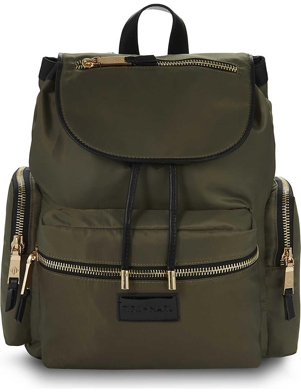 24d70fa557be4 TIBA + MARL - Kaspar nylon knapsack | Selfridges.com