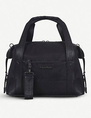EMPORIO ARMANI. Classic changing bag. TIBA + MARL Exclusive Felix nylon  duffel bag 58ef3b0906110
