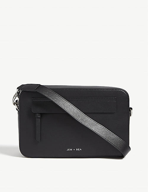 JEM + BEA Cara leather cross-body bag