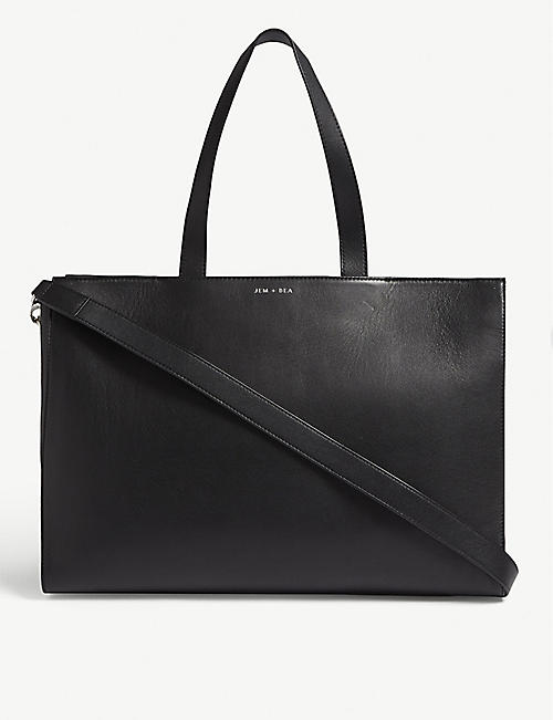 JEM + BEA Margot leather tote