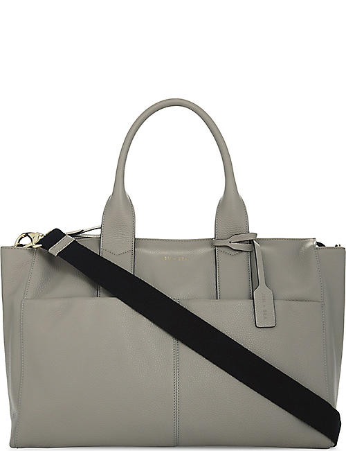 JEM + BEA: Jemima leather changing bag