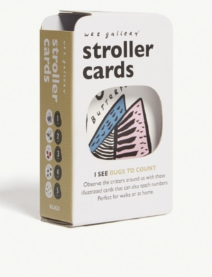 WEE GALLERY I See stroller cards