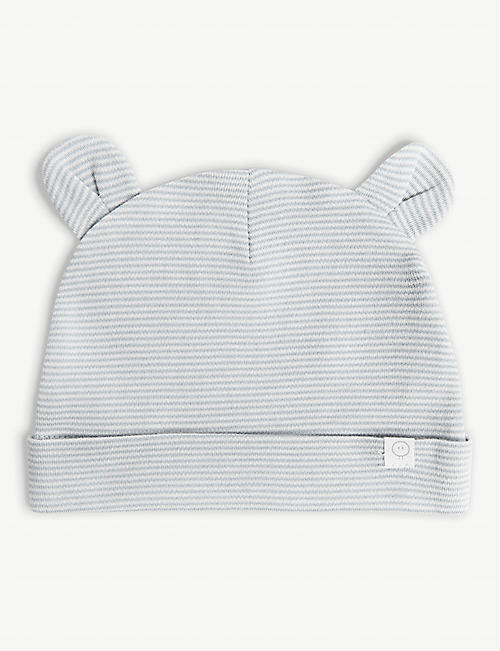 90804c4ab64 BABY MORI Cotton-blend hat with ears 0-24 months