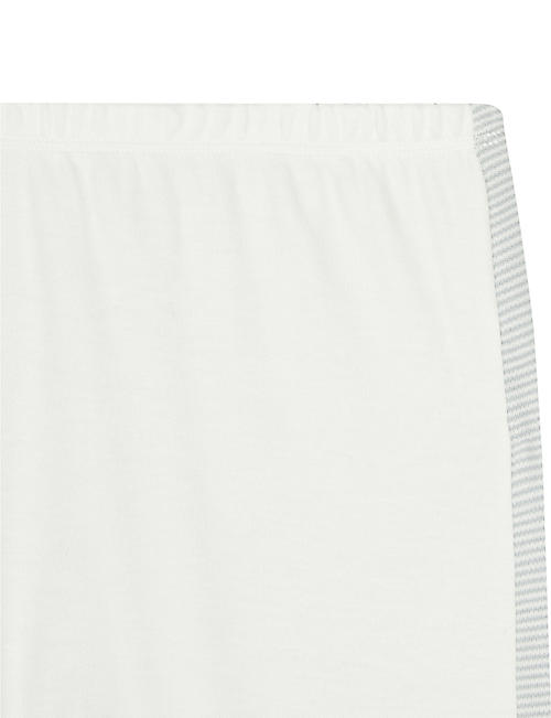 BABY MORI Contrast panel leggings 0-18 months