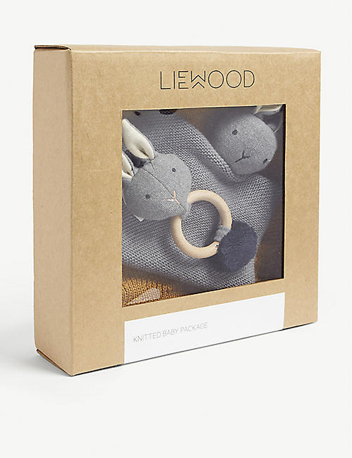 LIEWOOD Petra knitted cotton baby package