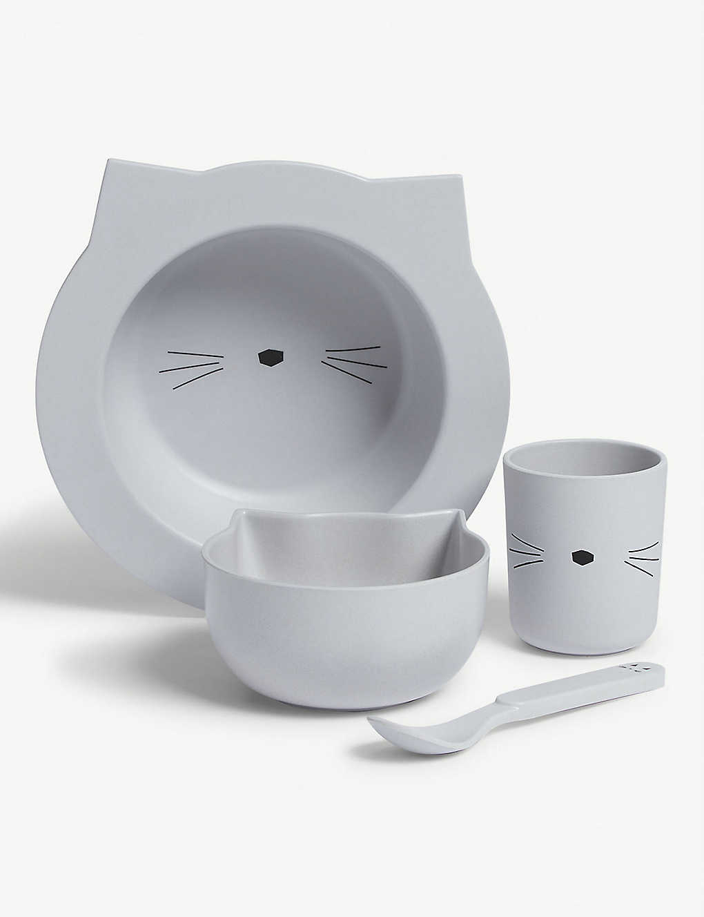 LIEWOOD: Barbara bamboo animal tableware gift set