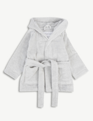 LIEWOOD Lily rabbit hood organic cotton terry dressing gown 1-4 years