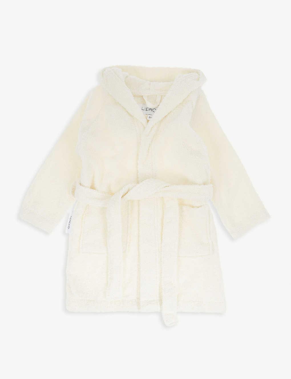 b62dbd0474f Lily panda terry cotton bath robe - Creme ...