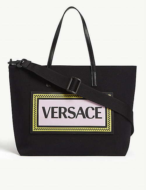 VERSACE Logo-print changing bag