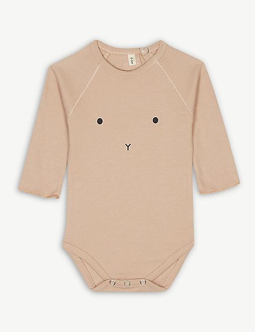 e2ed97de9ff7 ORGANIC ZOO Bunny cotton bodysuit 0-12 months