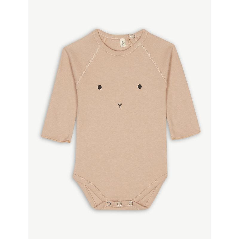 ORGANIC ZOO | Bunny Cotton Bodysuit 0-12 Months | Goxip