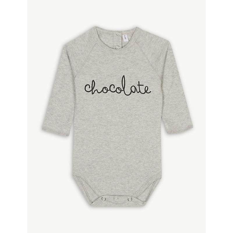 ORGANIC ZOO | Chocolate Cotton Bodysuit 0-12 Months | Goxip
