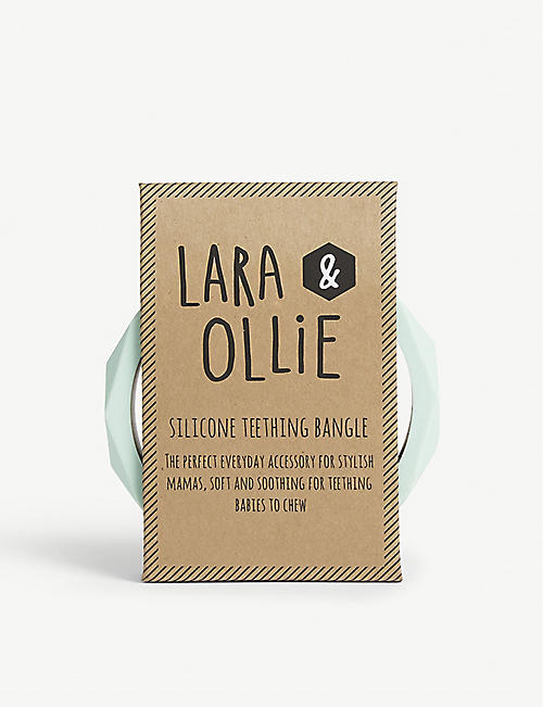 LARA & OLLIE Silicone teething bangle