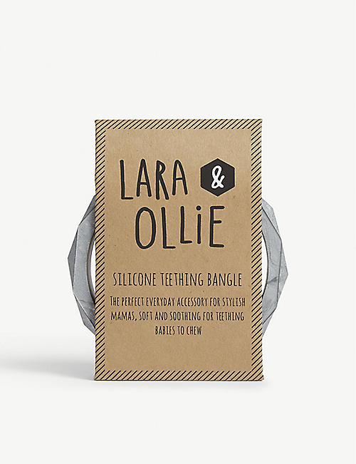 LARA & OLLIE: Silicone teething bangle