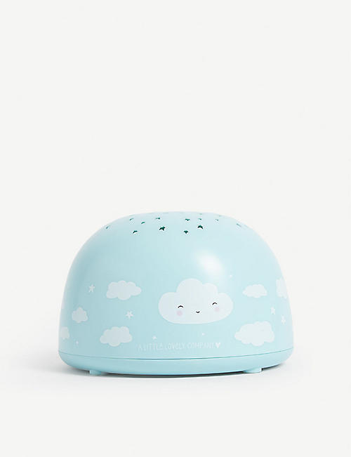 A LITTLE LOVELY COMPANY Cloud projector night light