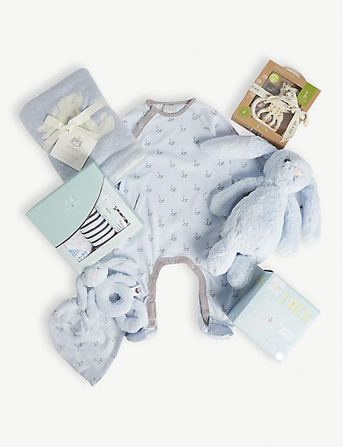 SELFRIDGES Baby hamper set of eight