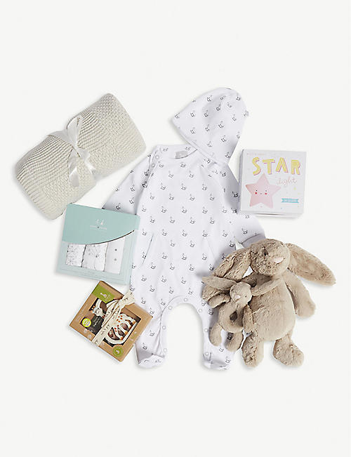 SELFRIDGES Welcome World baby hamper