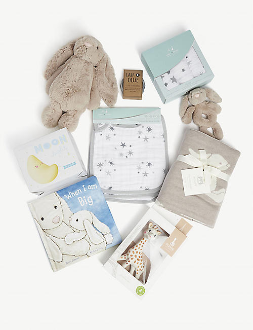 SELFRIDGES Baby gift hamper set of nine