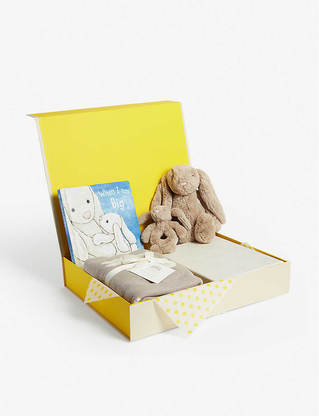 SELFRIDGES: Bunny baby hamper gift set