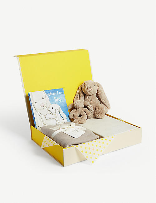 SELFRIDGES Bunny baby hamper