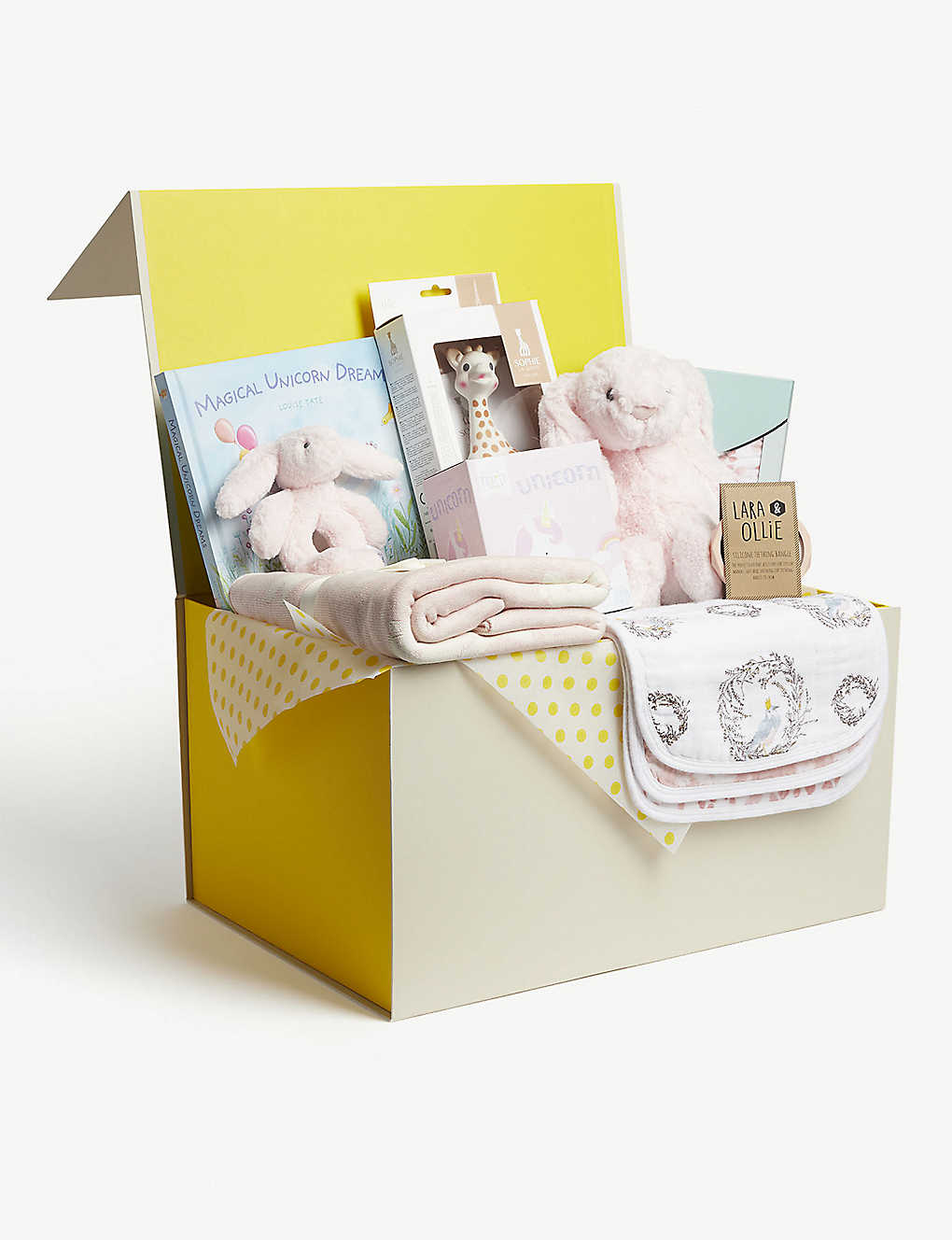 SELFRIDGES: Baby gift hamper set of nine