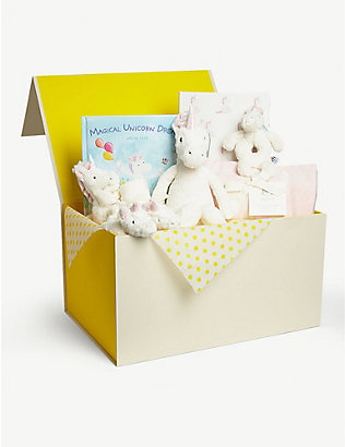SELFRIDGES: Bashful Unicorn hamper