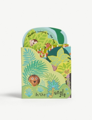 JELLYCAT In The Jungle fold out book