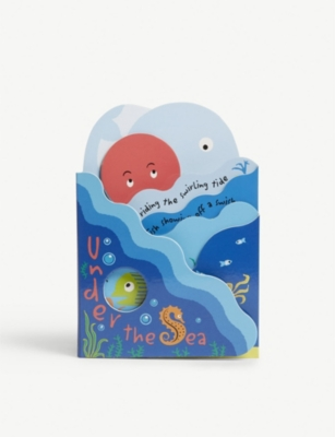 JELLYCAT Under The Sea fold out book