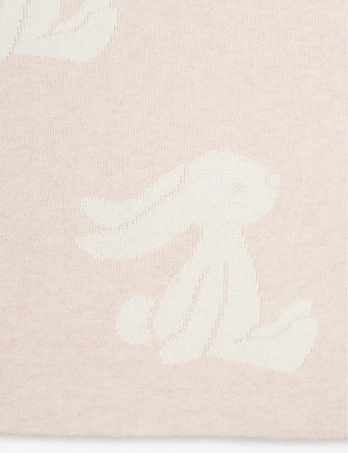JELLYCAT Bashful Bunny cotton blanket