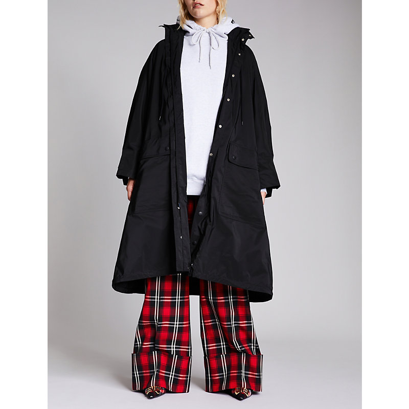 Ladies Black Opera Raincoat