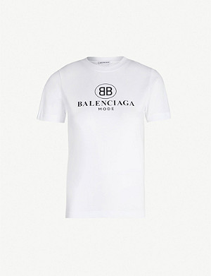 3db2c0dcafe0 BALENCIAGA - Speedhunters long-sleeved cotton-jersey T-shirt ...