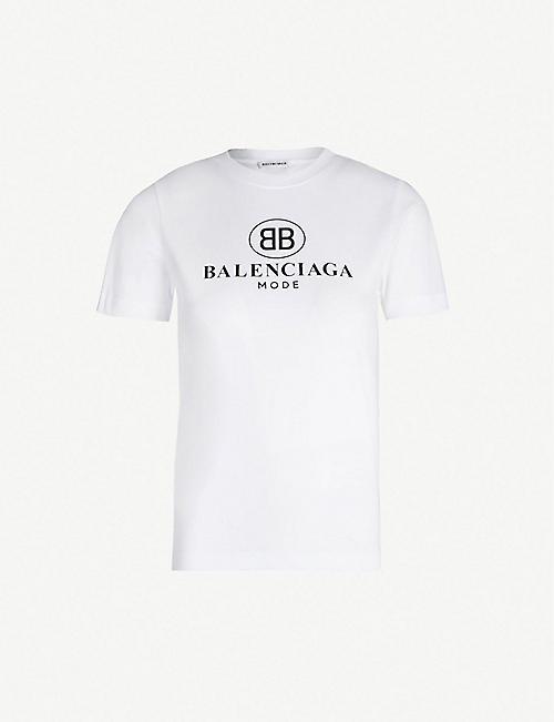 9ec6b43a2016 BALENCIAGA - Tops - Clothing - Womens - Selfridges | Shop Online