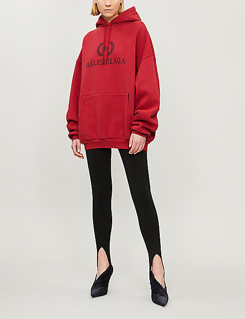 2019 New Sequins Womens Set Big Eyes Printed Hoodies Suit 2 Piece Set Streetwear Red Black Wide Selection; Women's Clothing