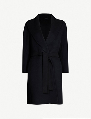 S MAX MARA Messi wool wrap coat